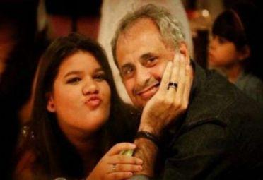 Jorge Rial y su hija, Morena
