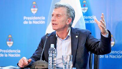 Autoridad. Mauricio Macri dejó de lado la Ley de emergencia en cuanto a las tarifas, como una muestra de su decisión de no cambiar el rumbo económico encarado.