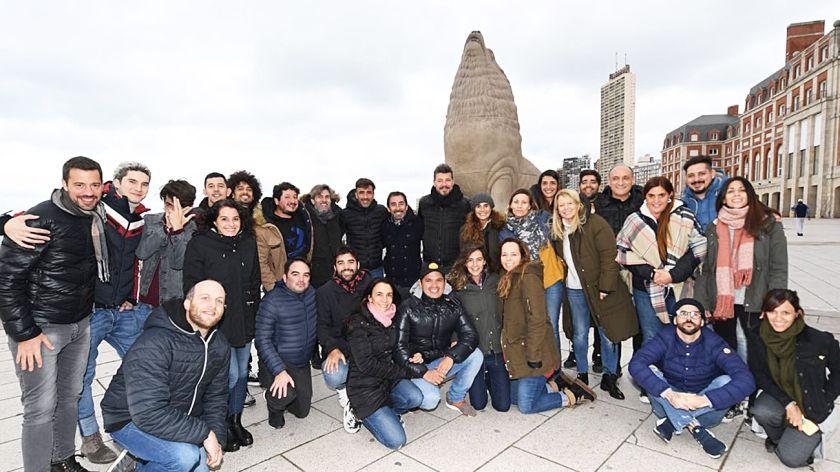 Tinelli organizó para su equipo de Laflia un retiro de 72 horas ...