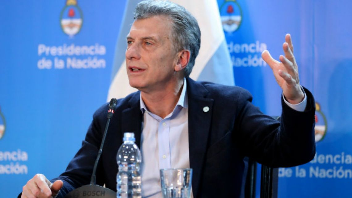 Macri argued the price cuts would cost US$3.9 billion.