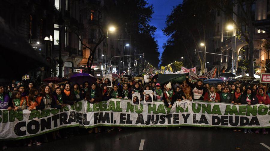 Movilización en el tercer aniversario de Ni Una Menos