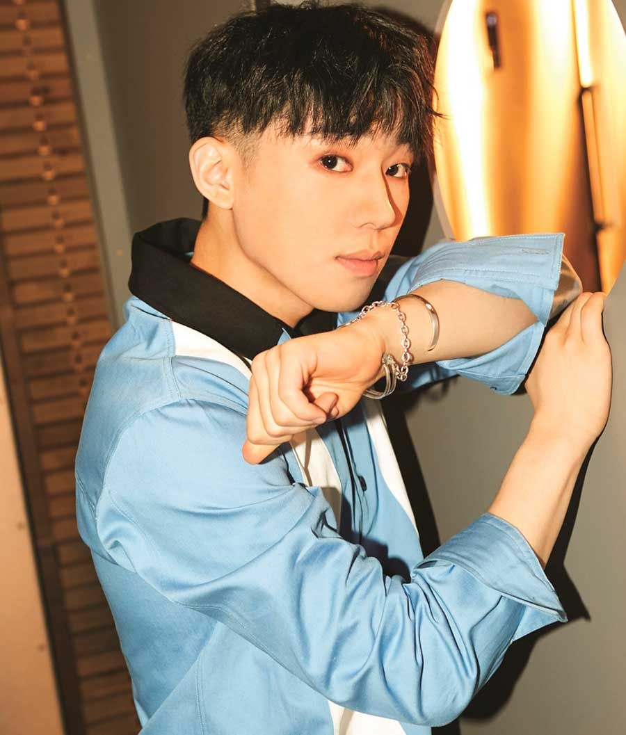 Changjo, líder del grupo Teen Top.