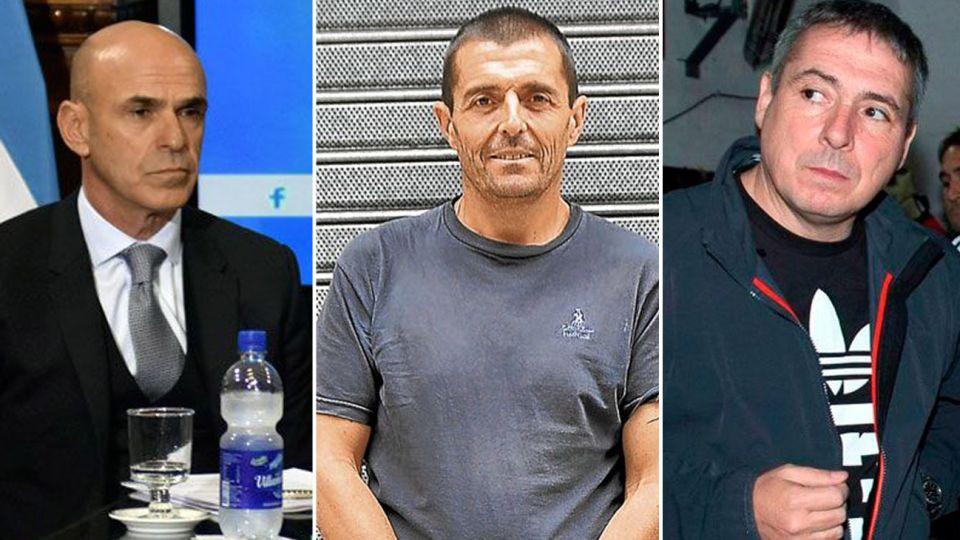 Federico Delgado , Gustavo Arribas y Víctor Stinfale