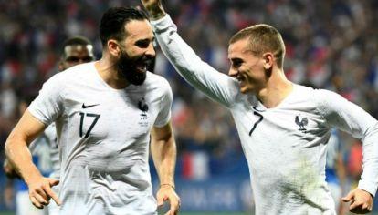 Griezmann es la carta de gol de Francia para el Mundial de Rusia.