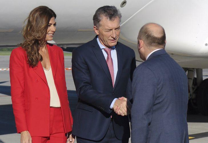 Macri canada G7 juliana awada