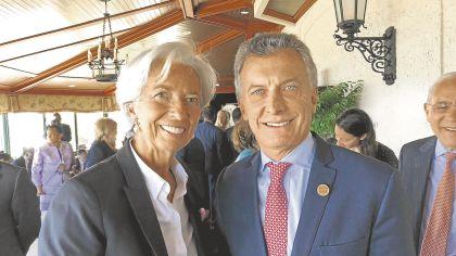 Macri---Lagarde