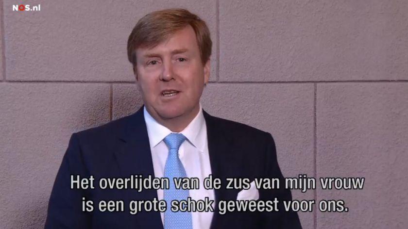 Guillermo Alejandro rey de Holanda habló antes de empezar una gira por tres países