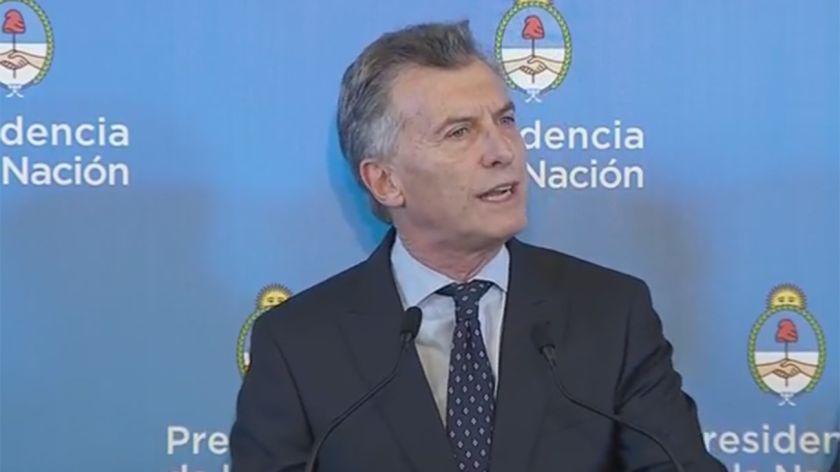 Macri tiene un quiste pancreático preexistente de carácter
