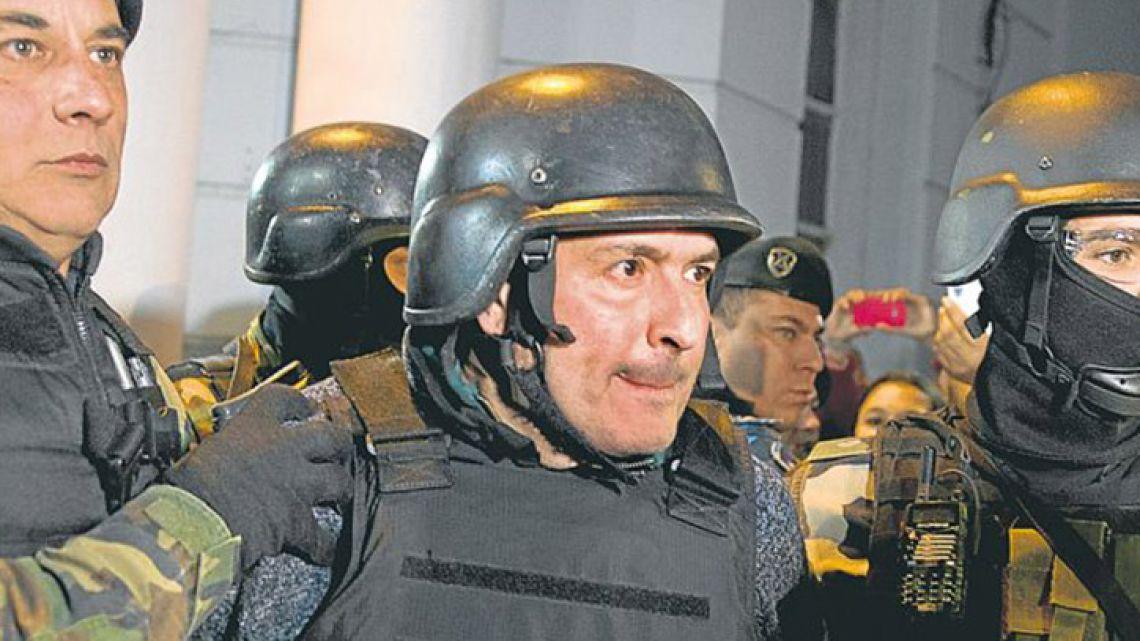 Former Public Works Secretary José López.