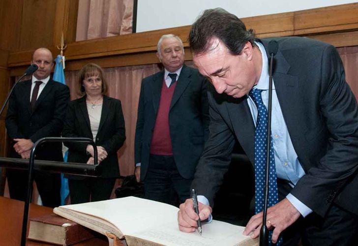 Martín Irurzun, presidente de la Cámara Nacional de Apelaciones en lo Criminal y Correccional Federal, le tomó juramento a Mariano Llorens como juez de la Sala I.