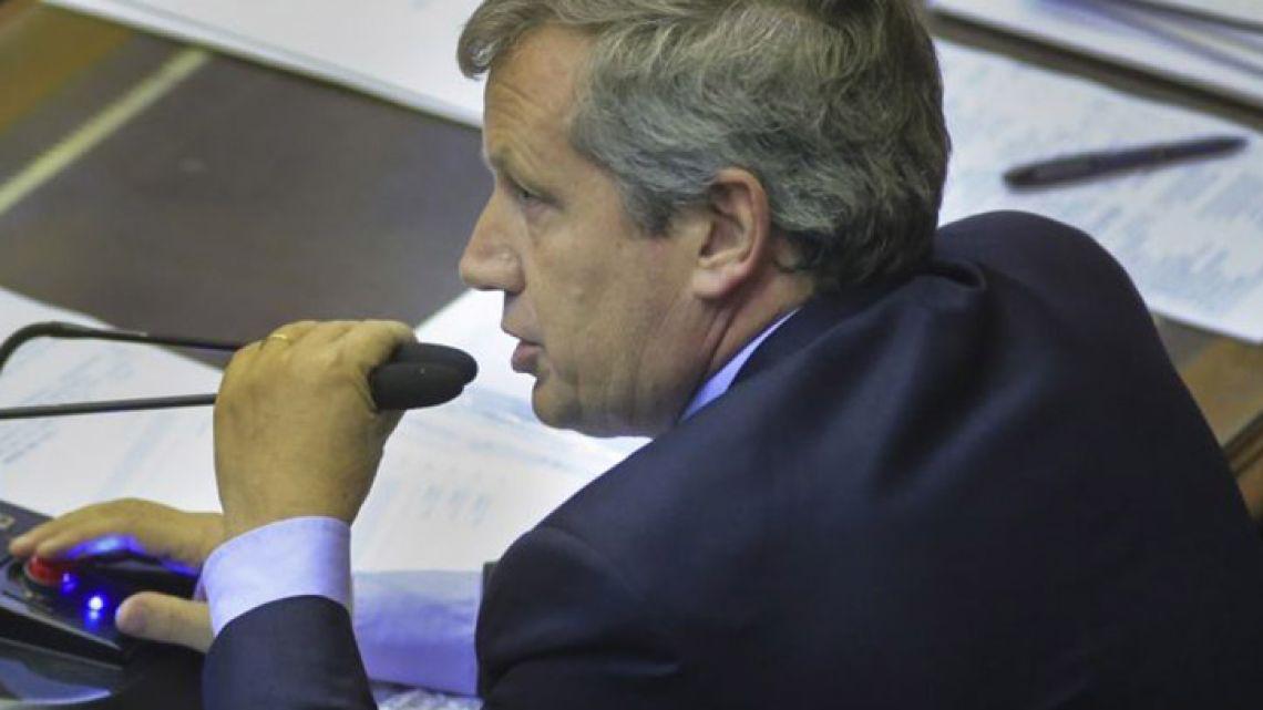 Lower House Speaker Emilio Monzó.