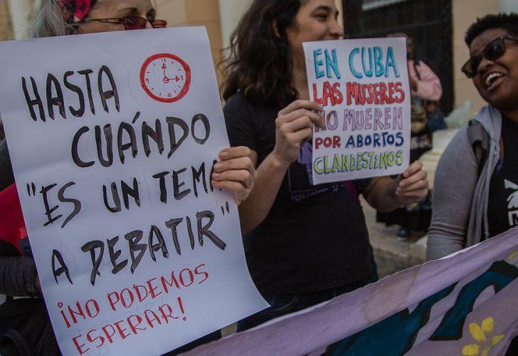 Las posturas a favor de la despenalización del aborto siempre tiene a Cuba como estandarte.