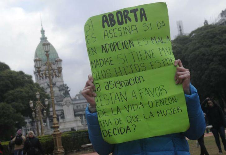 vigilia despenalizacion aborto escayola 20180613