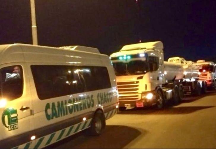 Camioneros realiza su paro nacional