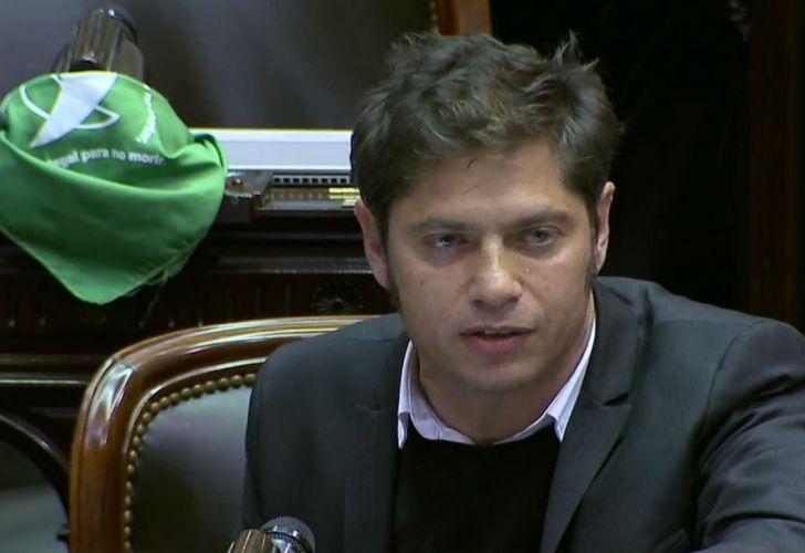 El diputado Axel Kicillof.