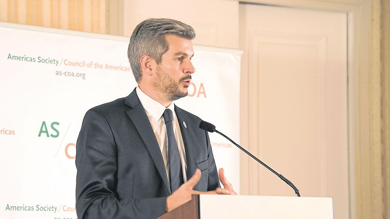 Peña. El jefe de Gabinete tiene un rol comparable con el del primer ministro en Francia.