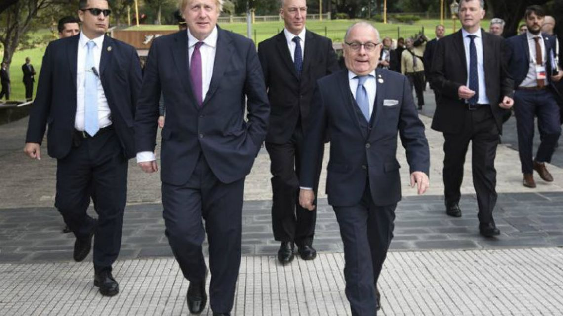 Foreign Secretary Boris Johnson visited Latin America on a recent overseas trip.