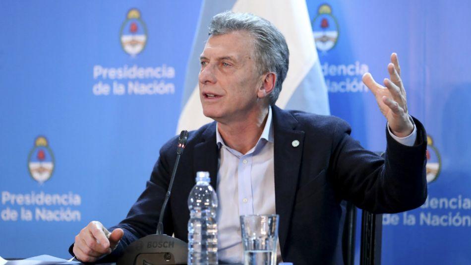 Mauricio Macri 20180616