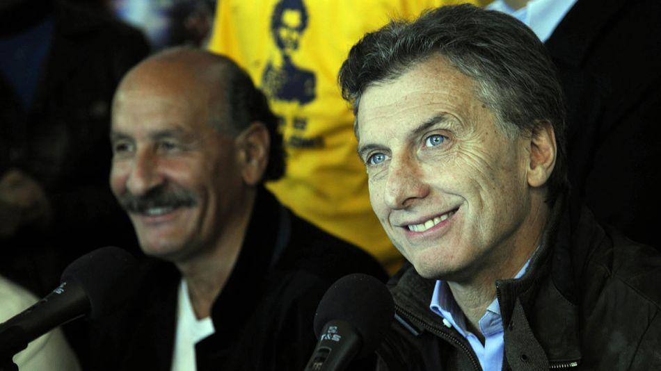Jorge Yoma y Mauricio Macri