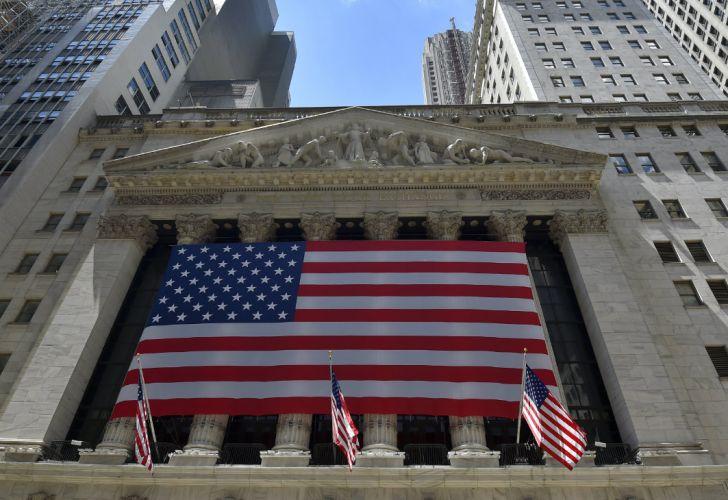 El edificio de la Bolsa de Valores en Wall Street, Nueva York.