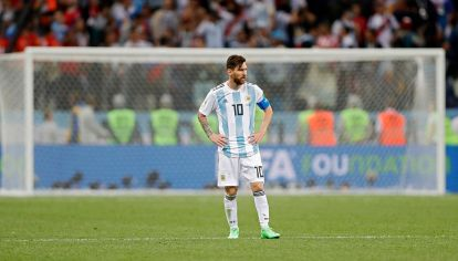 Argentina cayó 3-0 ante Croacia y quedó muy comprometido para acceder a octavos de final