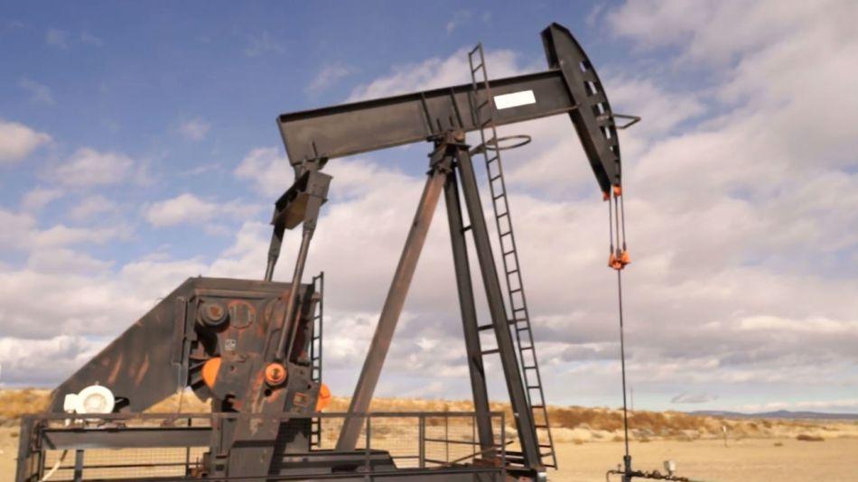 Perforadora de petróleo.