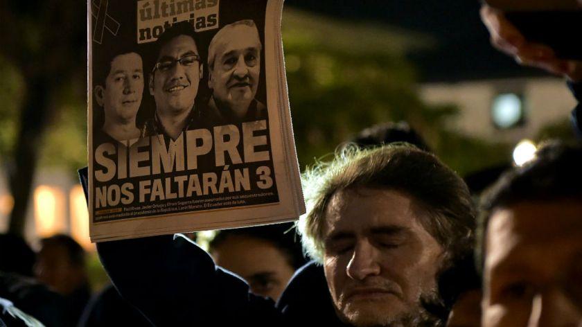 Ecuador envía nota de protesta a Colombia por información