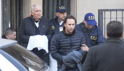 Hugo y Mariano Jinkis, padre e hijo, estuvieron más de dos semanas prófugos.