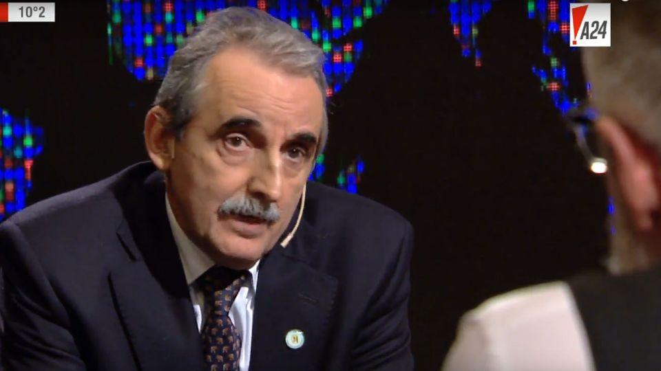 Siempre polémico, Moreno estuvo en el programa de Novaresio.
