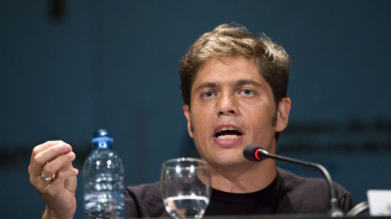 El diputado nacional del Frente Para la Victoria Axel Kicillof volvió a critica al gobierno de Mauricio Macri y aseguró que el kirchnerismo va a volver en 2019.