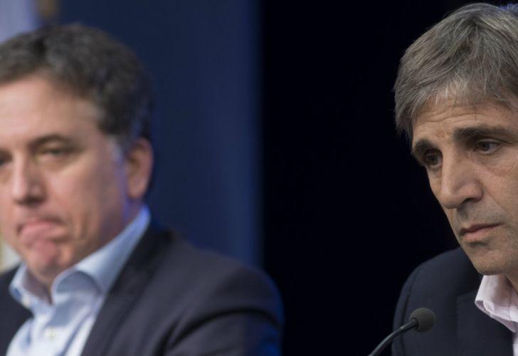 Nicolás Dujovne y Luis Caputo 20180623