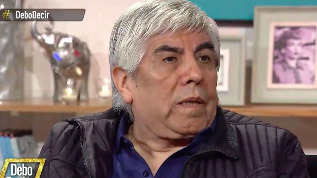Hugo Moyano en América TV.