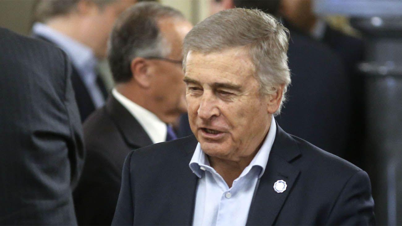 El ministro de Defensa, Oscar Aguad.