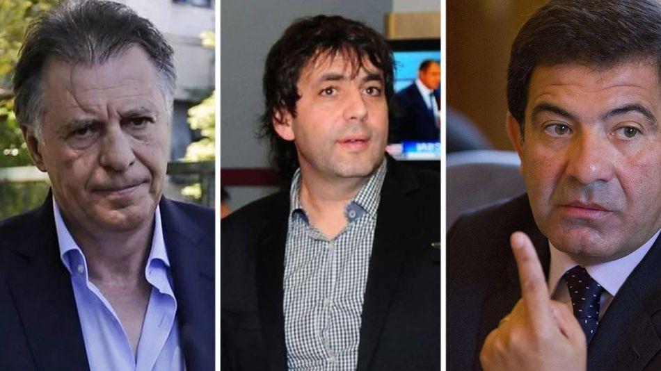 Cristóbal López, Fabián De Sousa y Ricardo Echegaray06282018
