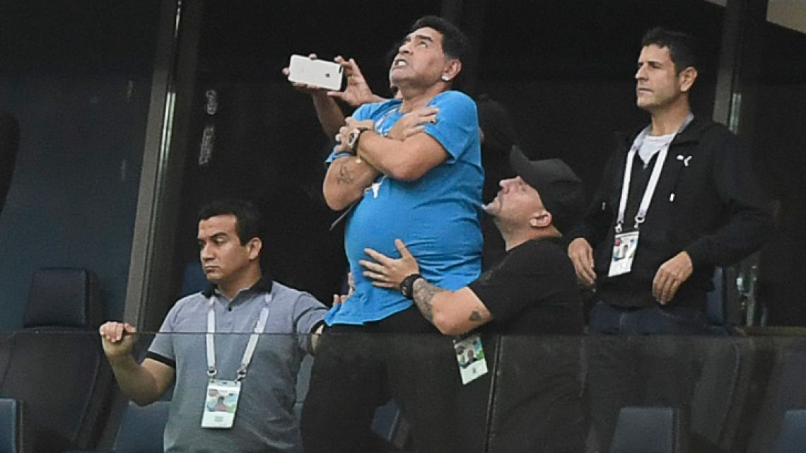Diego Maradona wants to identify the source of reports claiming he was dead.