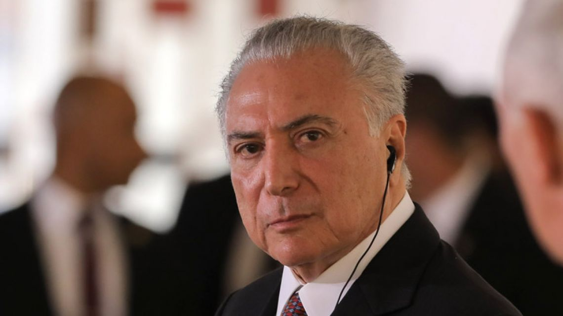 Brazilian President Michel Temer.