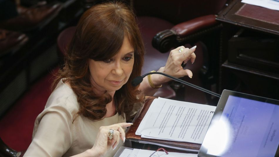 Cristina en el Senado06292018