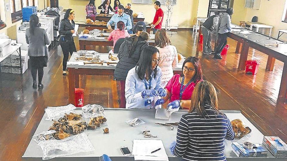 Continente. Los responsables del EAAF dan un curso en Colombia este año.