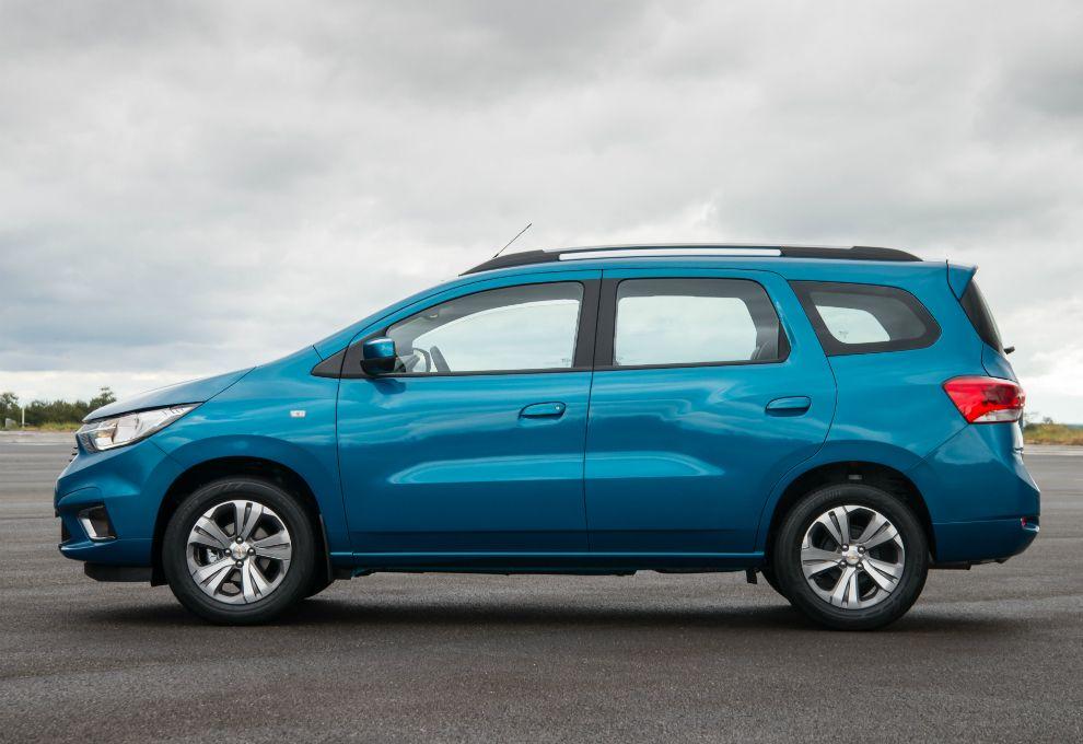 Parabrisas Chevrolet Present La Gama Completa Del Nuevo Spin