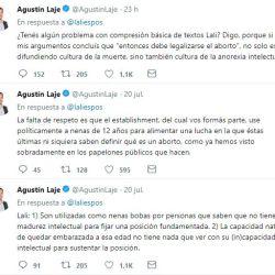Cruce-Lali Esposito-Agustin Laje