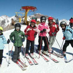 Esquí para toda la familia en Penitentes