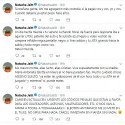 Natacha Jaitt denuncia 1