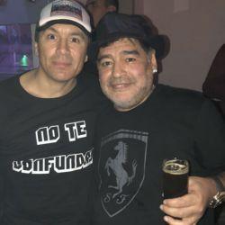Pablo Lescano-Diego Maradona