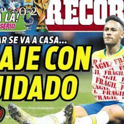 Neymar burla Mexico Record_20180707