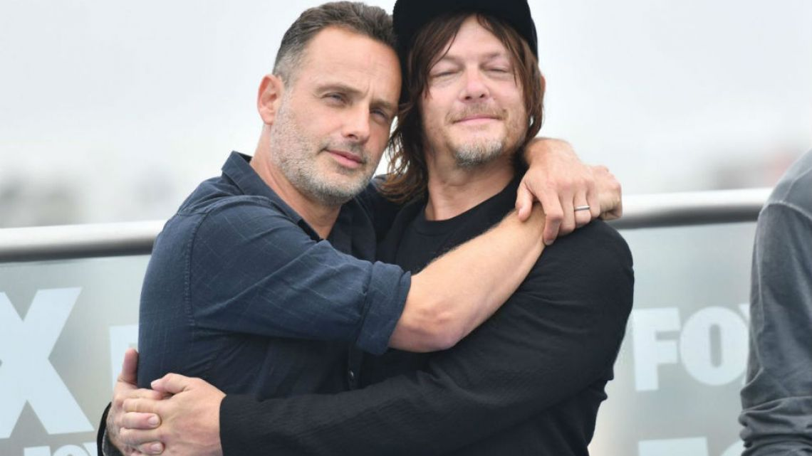 Andrew Lincoln_ Norman Reedus