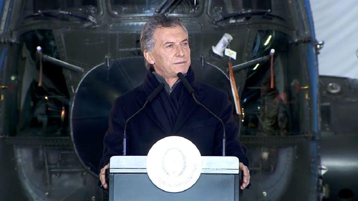 macri-al-anunciar-el-nuevo-sistema-de-defensa-nacional-341901