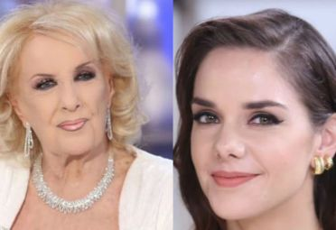 Mirtha Legrand y Julieta Nair Calvo