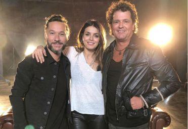 Natalie Pérez, Diego Torres y Carlos Vives videoclip
