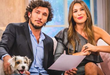 Pico Móna y Pampita tenencia perro