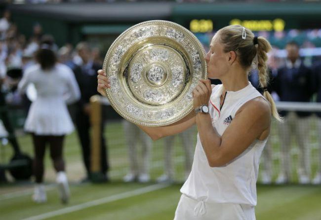 Kerber gana Wimbledon por primera vez